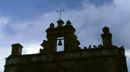Church / Fort Silhoutte - 01 Stock Footage