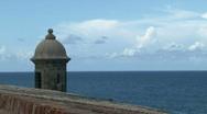 Puerto Rico Fort Landmark - 02 Stock Footage