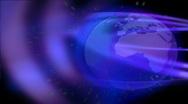 Stock Video Footage of Blue Globe HD 15