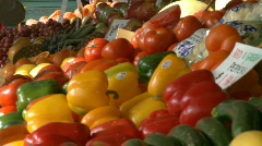 Stock Video Footage of Fresh Produce (1 of 2)