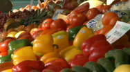 Fresh Produce (1 of 2) Stock Footage