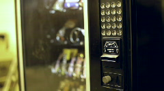 Buying Something from Vending Machine Stock Footage