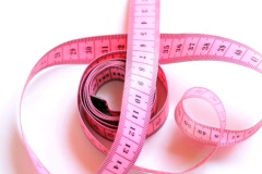 Rotating measuring tape , loopable Stock Footage