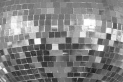 Disco Ball. Silver. Stock Footage