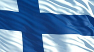 Stock Video Footage of finland flag