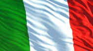 Stock Video Footage of italy flag