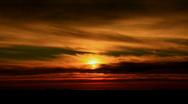 Sunset Time Lapse SLR01 Stock Footage