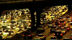 Transport Pollution - stock footage