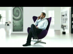 businessman at phone - web - stock footage