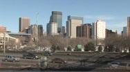 Minneapolis IDS traffic Stock Footage