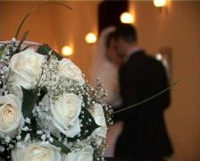 wedding dance - stock footage