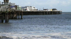 Santa Cruz Harbor 1 Stock Footage