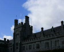 University College Cork, Ireland, time lapse Stock Footage
