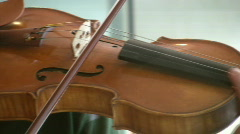 Classical violinist. Stock Footage