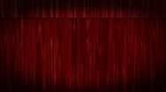 Red Velvet Curtains ZOOM Stock Footage