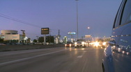 Traffic passing on a highway (1 of 5) Stock Footage