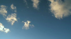 Clouds float slowly by (4 of 4) Stock Footage
