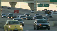 Stock Video Footage of Late afternoon on a busy highway (1 of 5)