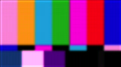 Bad Signal Bars and Tone Stock Footage
