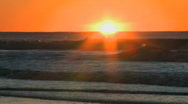 Sunrise at the beach (1 of 7) Stock Footage