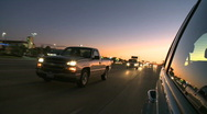 Traffic passing on a highway (4 of 5) Stock Footage