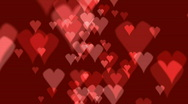 Stock Video Footage of heart background 02