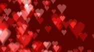 Stock Video Footage of heart background 03