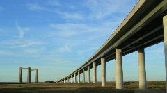 Sheppey Bridge-01 - stock footage