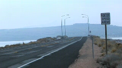 Slow Day on the Causeway Stock Footage