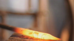 Stock Video Footage blacksmith, smith, farrier, smithy, shoer, forger Stock Footage