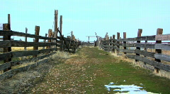 Old Ranch - stock footage