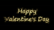 Stock Video Footage of spark happy valentine day