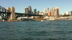 Sydney Harbor - stock footage