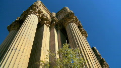Palace of Fine Art San Francisco Stock Footage