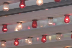 Fairground lights. Crop v2. Stock Footage