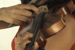 Violin music Stock Footage