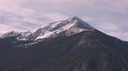 Snow Peaks of Colorado Rocky Mountains Stock Footage