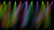 Stock Video Footage of Multi coloured stage lights, loopable