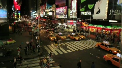 Time Square 4 Stock Footage