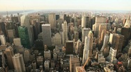 Stock Video Footage of roof top view of New York City