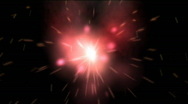 Star burning, loopable Stock Footage
