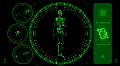 Skeleton Scan Screen - Hi-tech 14 (HD) Footage
