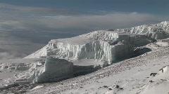 glacier - stock footage