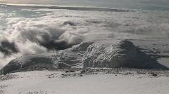 Jäätikkö Mount Kilimanjaro Arkistovideo