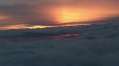 Summit kilimanjaro dayrise Stock Footage