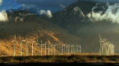 Wind Power Time-lapse - stock footage
