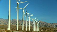 Clean & renewable wind energy Stock Footage