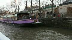 Houseboat Stock Footage