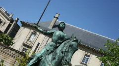 Jeanne D'Arc Stock Footage