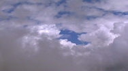 Stock Video Footage of fly through clouds 1
